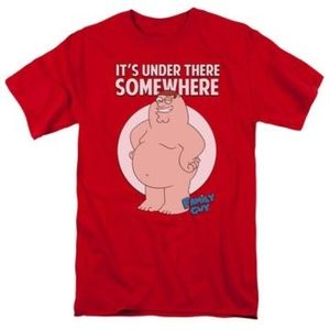 Family Guy - Somewhere Short Sleeve (Brand New)